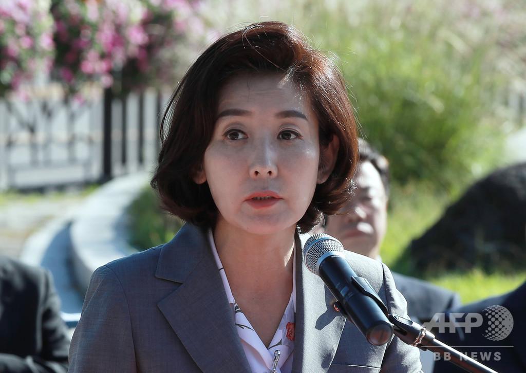 韓国の教育スキャンダル、曺氏追及の女性議員にも疑惑