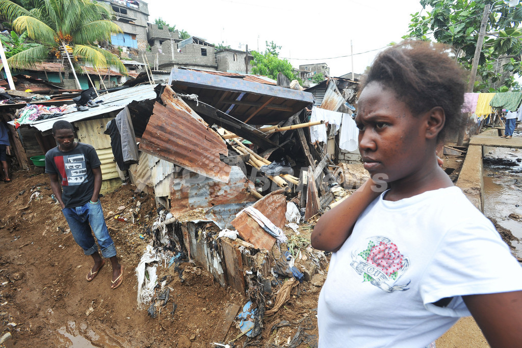 震災後の復興進まぬハイチ、ハリケーン「サンディ」が追い打ち