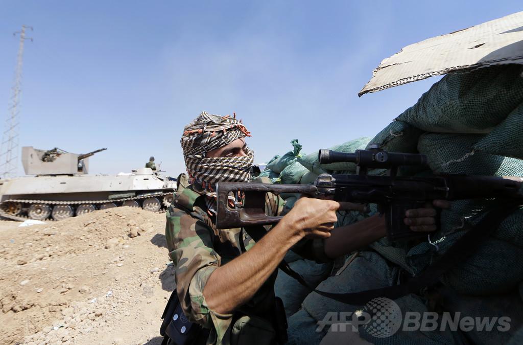クルド自治政府、イラク北部の油田を奪取