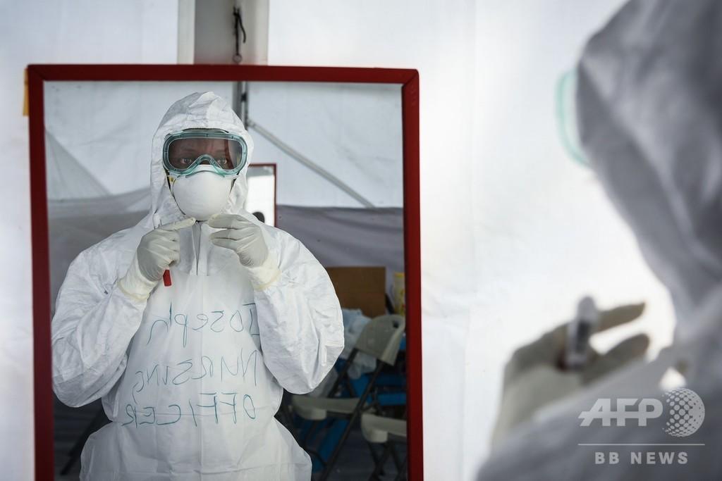 エボラ集団発生、半数は「検知漏れ」 英研究
