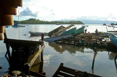 ソロモン諸島地震、救援活動を本格開始 被害状況いまだつかめず - ソロモン諸島
