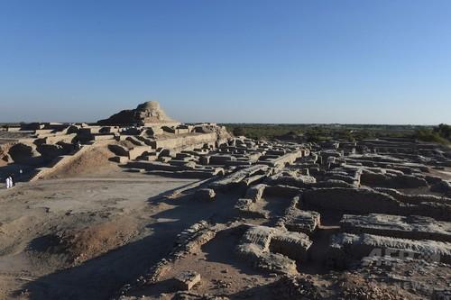 都市遺跡モヘンジョダロ、劣化や戦闘で失われる可能性 考古学者が警鐘