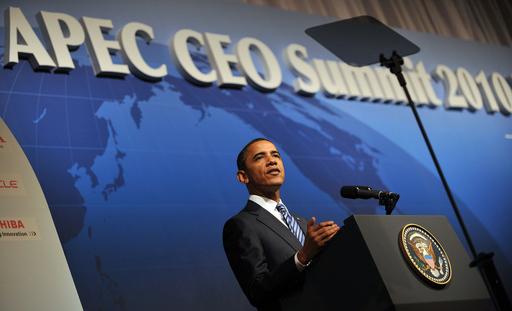 オバマ大統領、TPP推進の決意を示す APEC最高経営者サミットで講演