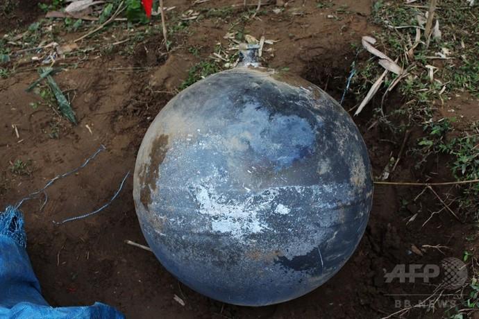 ベトナム北部に謎の球体が落下、軍が調査進める