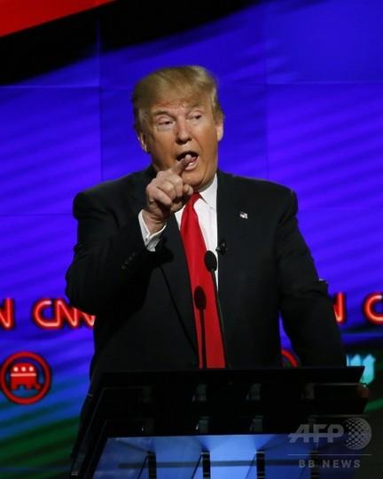 トランプ氏、天安門事件を「暴動」と呼ぶ 米大統領選TV討論会