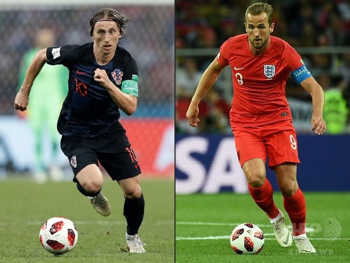 クロアチア対イングランドの先発メンバー発表、決勝進出をかけた大一番