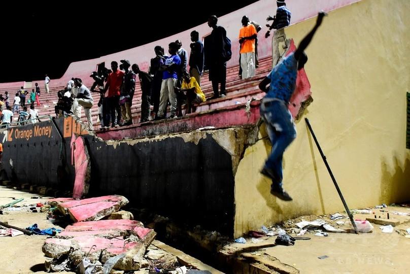 セネガルでスポーツ行事などが中止に、スタジアムの壁崩壊事故を受け