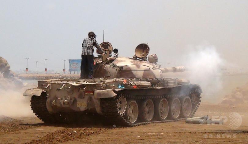イエメンのアデン、戦闘で1400人以上が死傷 先月26日以降