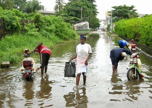 西アフリカの海岸も水没の危機、ドイツ専門家が指摘