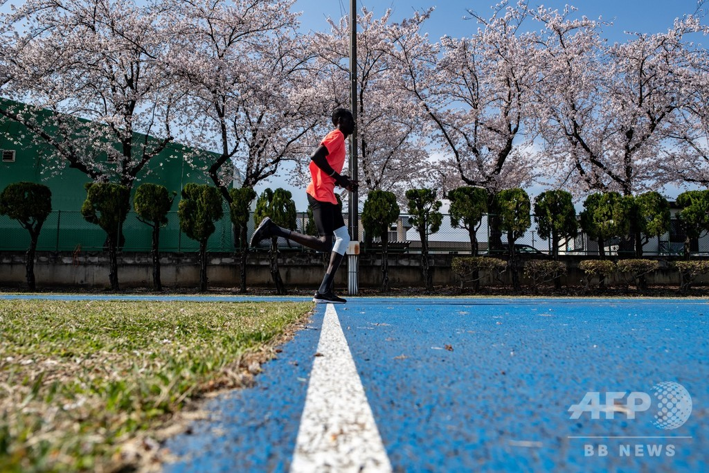 1年後の東京五輪に向けて、前橋に滞在続ける南スーダンの選手団