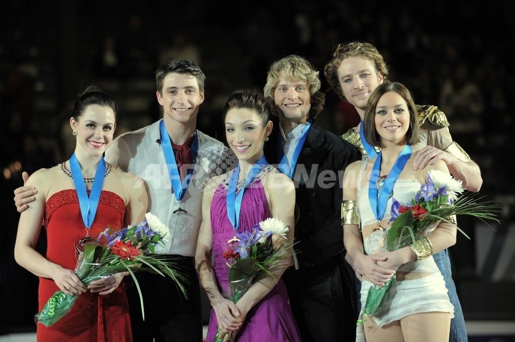 デイビス/ホワイト組がアイスダンスで2連覇、GPファイナル