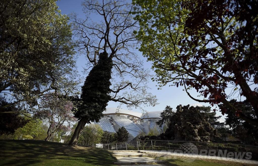 ブローニュの森にルイ・ヴィトンの「アートの殿堂」