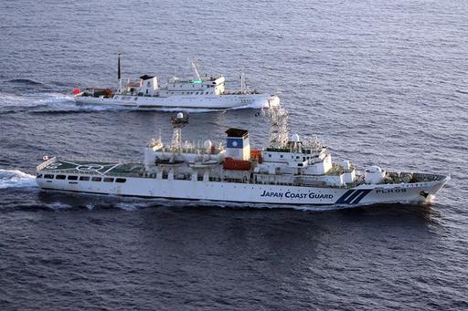 尖閣領海侵入、「通常の巡視活動」と中国政府