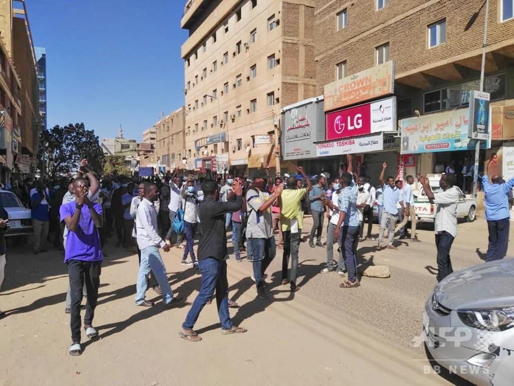 スーダン反政府デモ、死者数は24人に パンの値上げがきっかけ