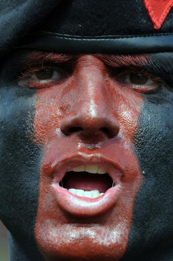 ホンジュラスで軍隊の式典