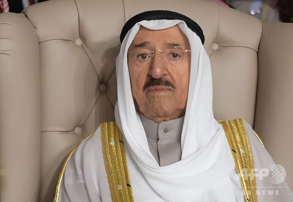 クウェートのサバハ首長が死去 91歳