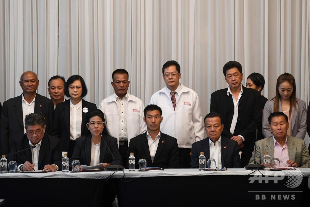 タイ7党、軍政に対抗し連立に合意 民政移管なるか