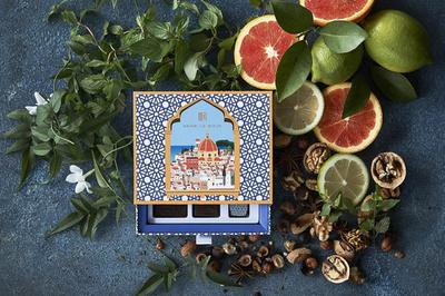 「アンリ・ルルー」バレンタインに地中海をテーマにした新作ショコラ登場