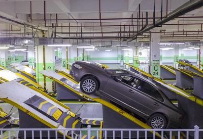 平面傾斜式のスマート車庫、重慶市に登場