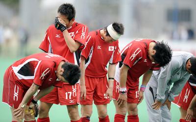 日本男子 北京五輪出場逃す