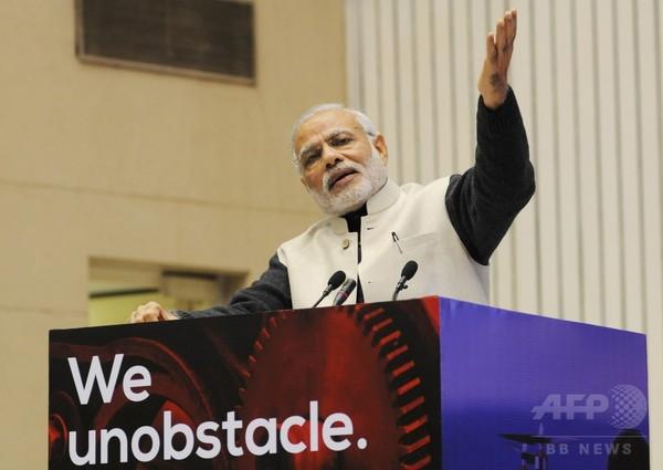 印首相、ムスリム議員に頭下げる?加工画像投稿容疑で男を逮捕