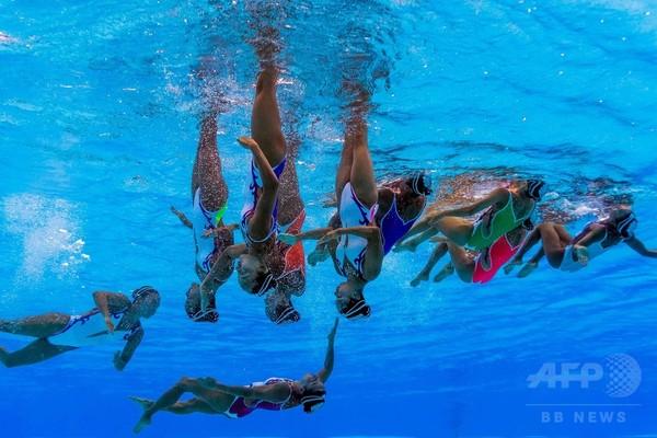 【特集】水中カメラがとらえた世界水泳ハンガリー大会