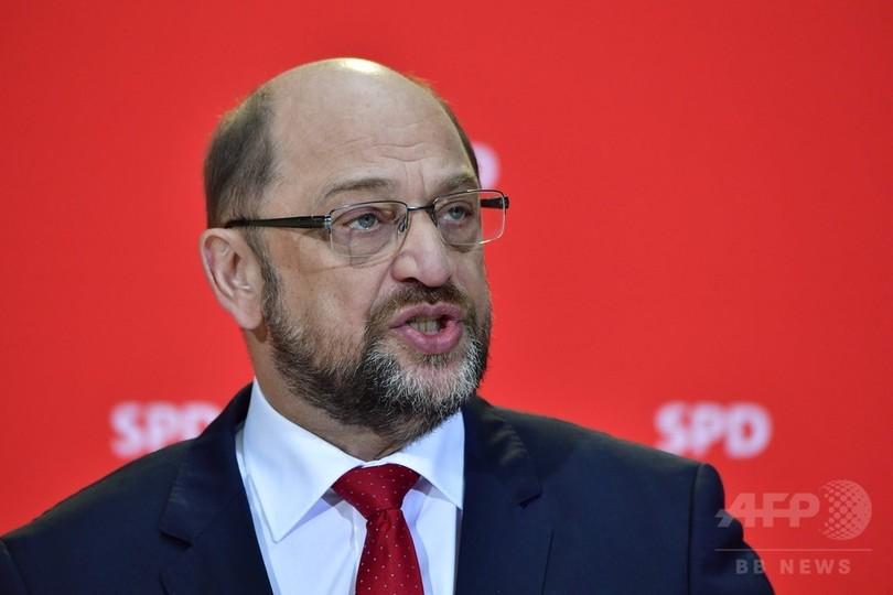 ドイツ社民党、政治危機解消に向け「交渉の用意」