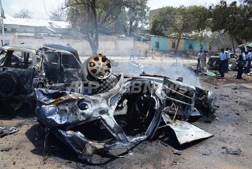 ソマリア首都で爆発攻撃、18人死亡 シャバブが犯行声明