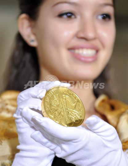 オーストリア造幣局、「ウィーン金貨20オンス」を限定発売へ