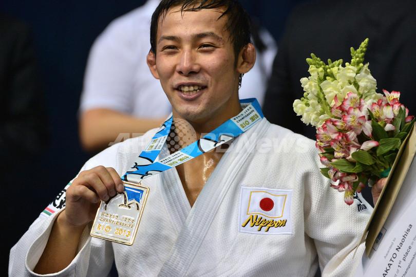 高藤が男子60キロ級で金メダル、世界柔道