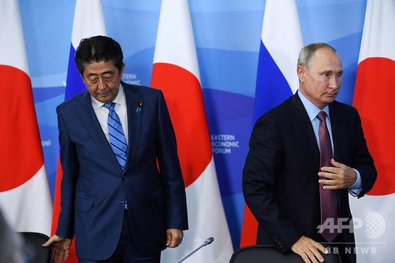 北方領土問題の速やかな解決の可能性は低い、プーチン大統領