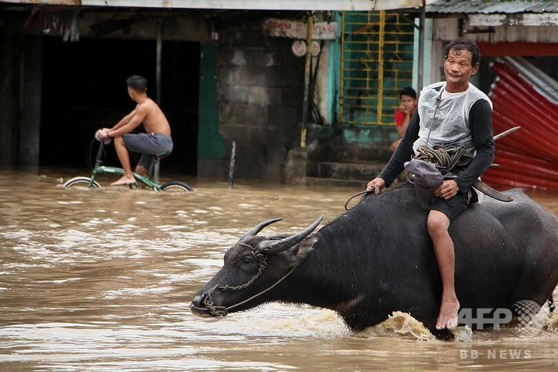 フィリピンで豪雨、68人死亡