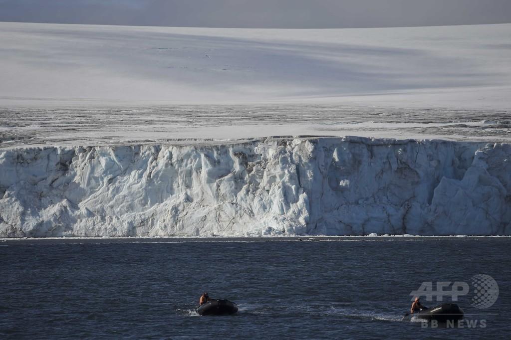 南極上空のオゾン層に「回復」の兆し、研究