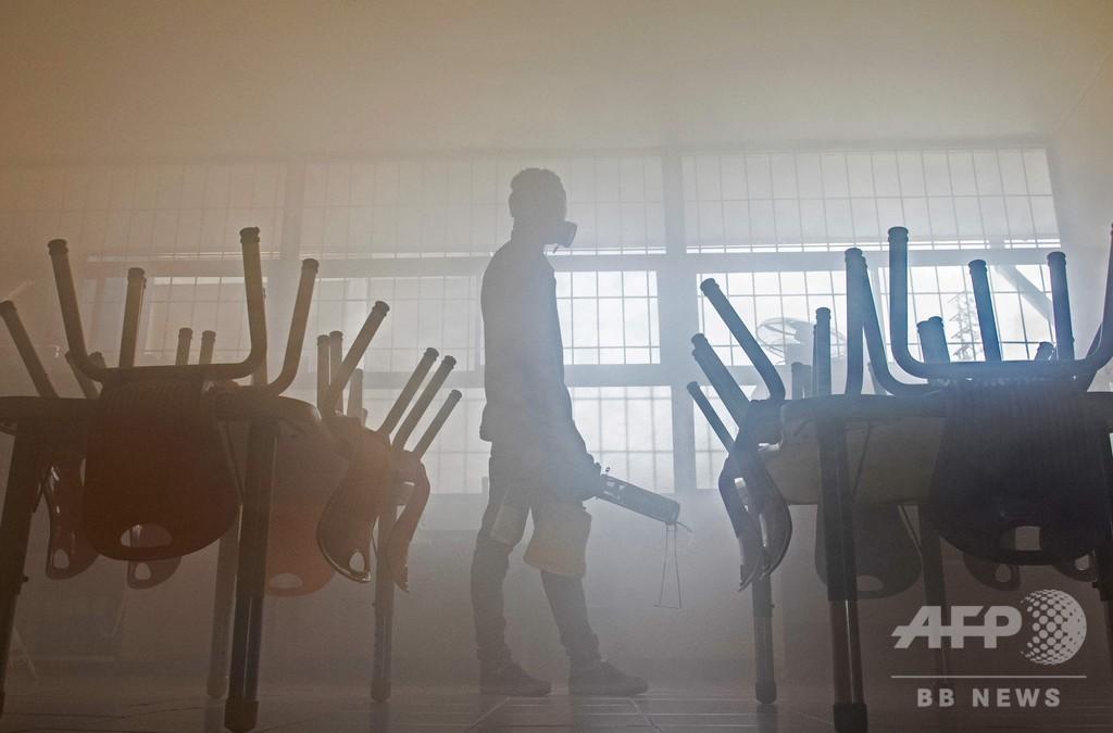 8.5億人が学校に通えず、新型ウイルスで休校措置拡大 ユネスコ