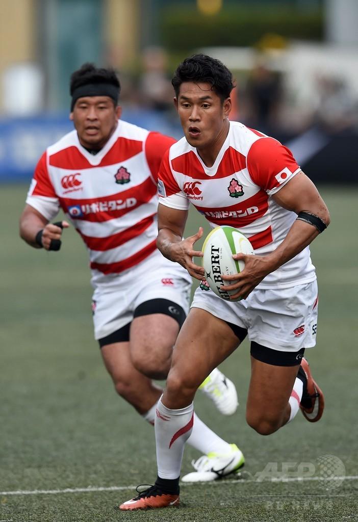 ラグビー日本代表、香港を破り2連勝 アジア選手権