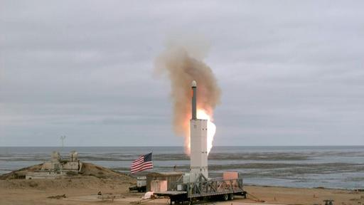 動画:米が中距離巡航ミサイル実験 INF条約失効受け 発射時の映像