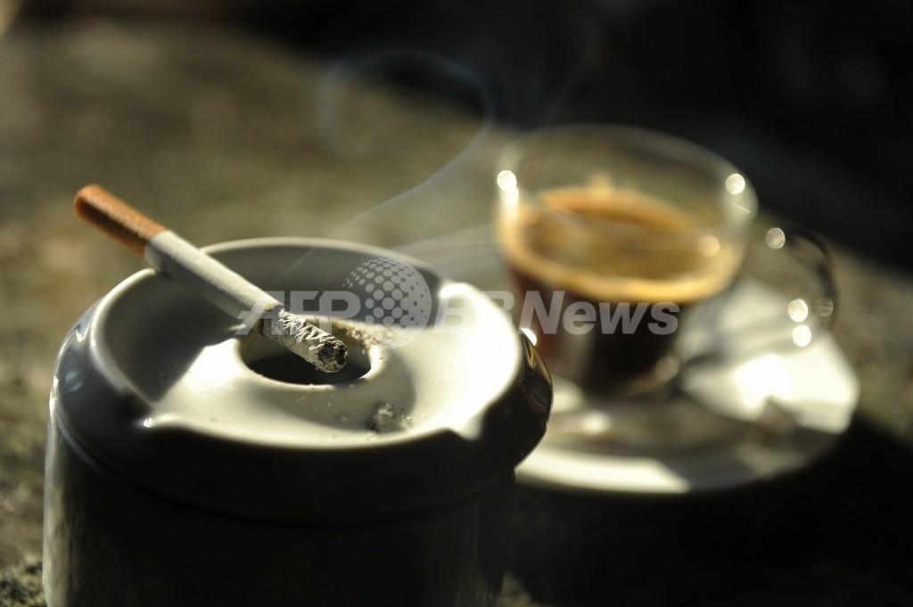 タバコ爆発で歯6本失う、インドネシア男性