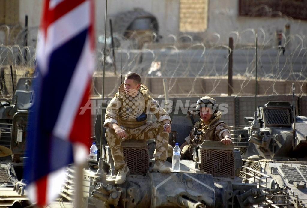 「テロとの戦い」は「誤り」、英外相がブッシュ米政権を批判
