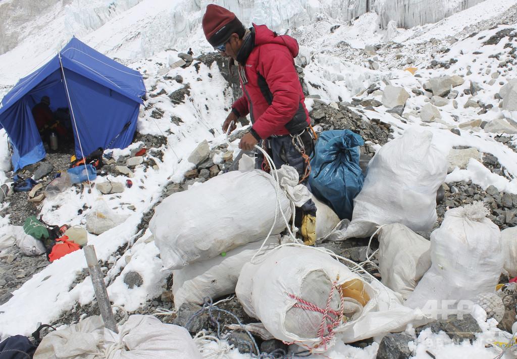 中国側のエベレストベースキャンプ、観光客の立ち入りを禁止