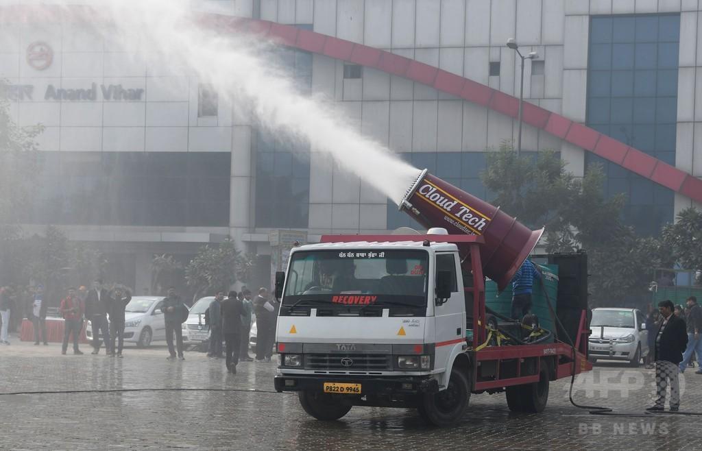 印首都、大気汚染対策の新兵器を試験運用 「付け焼き刃」との批判も