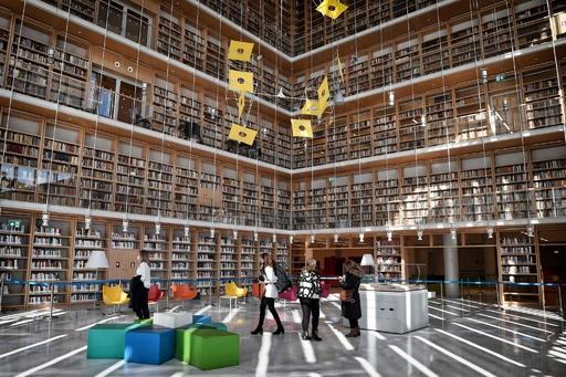 新たな章の幕開け、ギリシャ国立図書館が大移動
