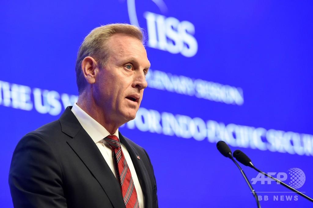 「近隣国の主権侵害をやめよ」 米国防長官代行 中国に警告 アジア安保会議