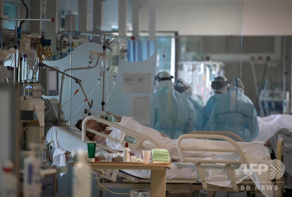 スペインの新型コロナ死者数、2万人超える