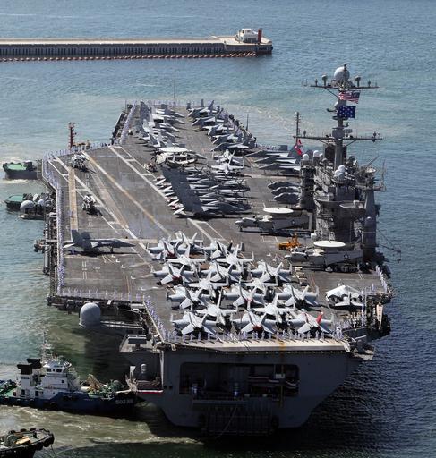 25日から米韓の大規模軍事演習、北朝鮮側には拡声器で通告