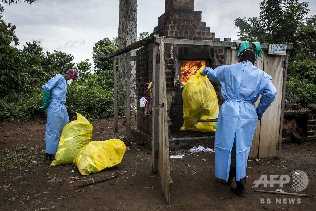 コンゴのエボラ出血熱、流行の「第2波」を確認 死者125人に