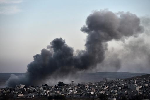 イスラム国空爆で民間人犠牲の可能性、米軍が初めて認める