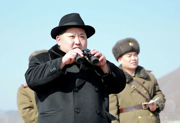 北朝鮮、ミサイル2発を発射 「ノドン」との見方