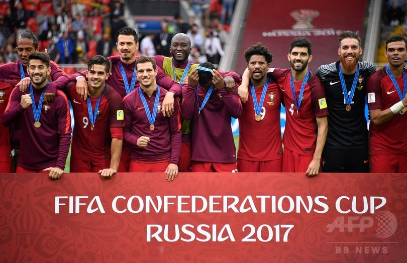 ポルトガルがコンフェデ杯3位、延長戦の末メキシコに勝利