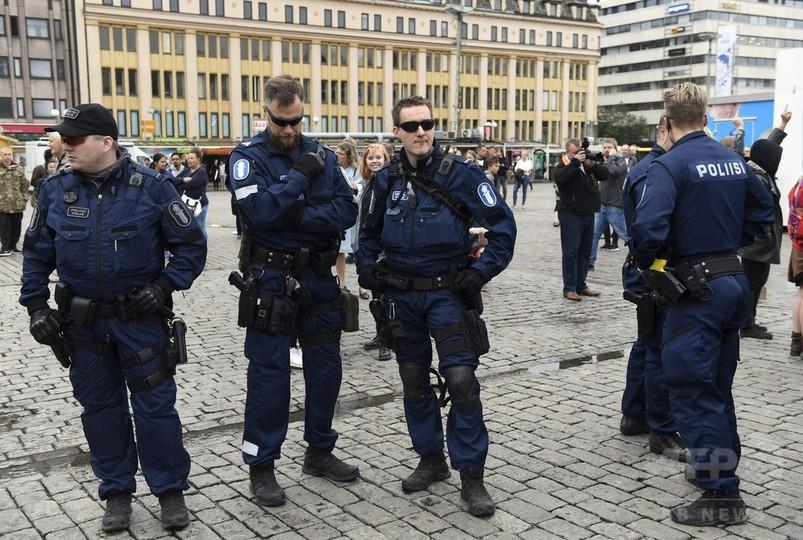 フィンランドの殺傷事件、容疑者の標的は女性 ISとの関連捜査