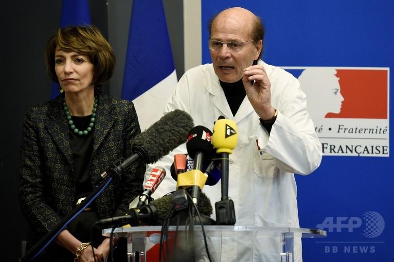 1人が脳死の試験薬治験、90人が摂取 フランス